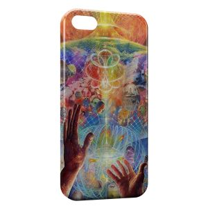 Coque iPhone 5C Psychedelic Style 3