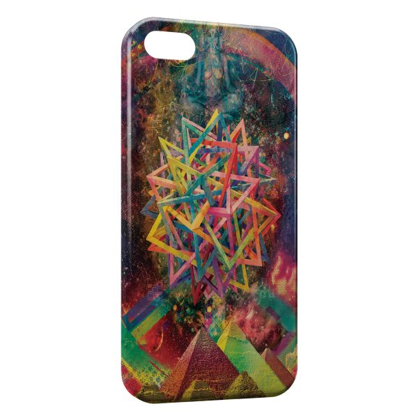 Coque iPhone 5C Psychedelic Style