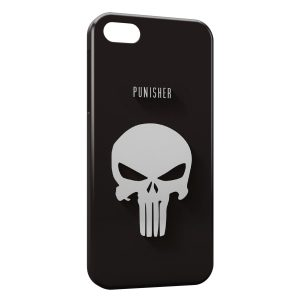 Coque iPhone 5C Punisher Logo