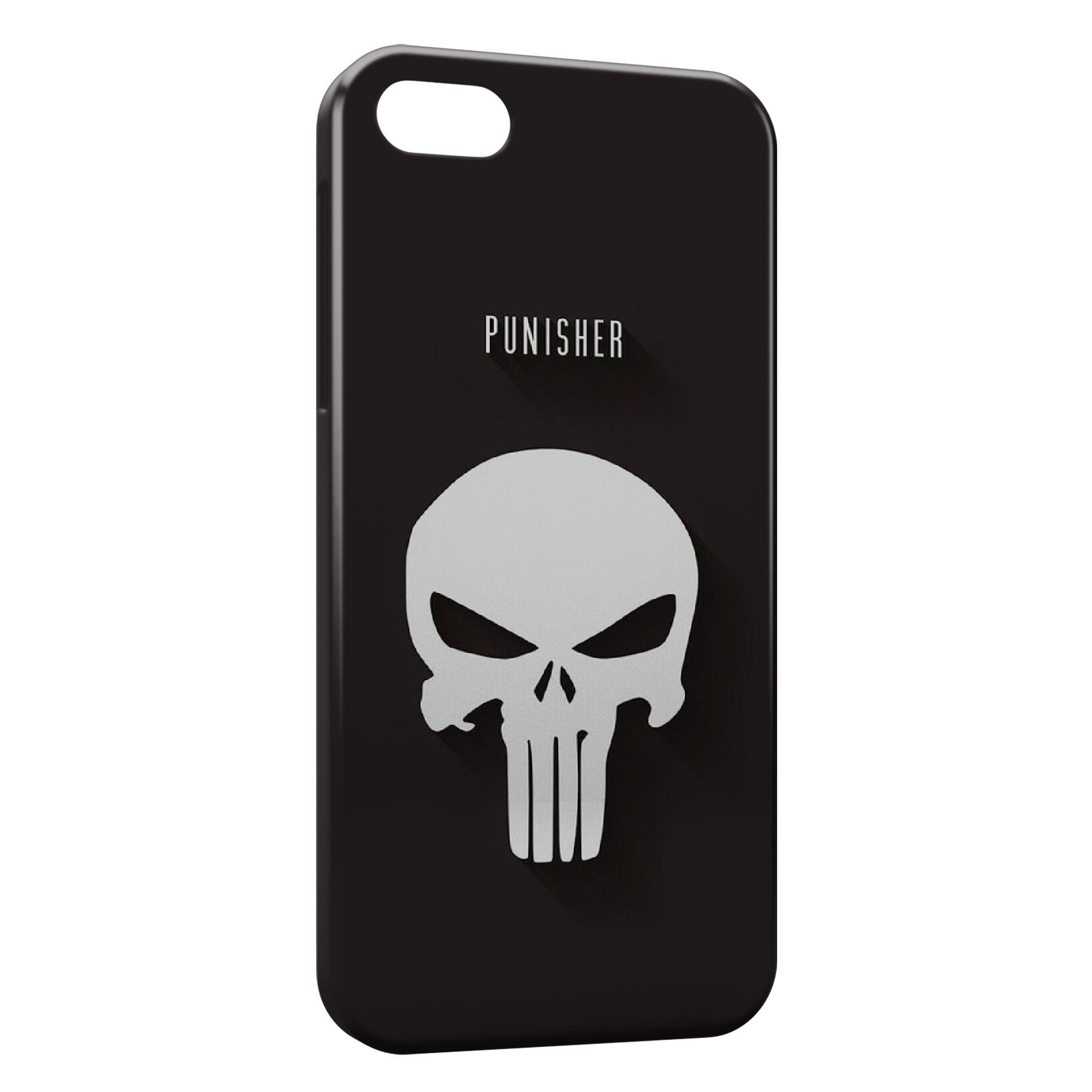 Coque iPhone 5C Punisher Logo