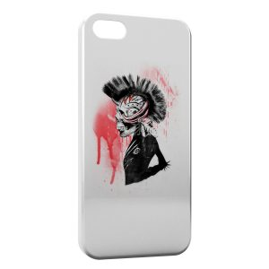 Coque iPhone 5C Punk is dark