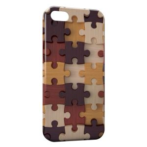 Coque iPhone 5C Puzzle 3D Design