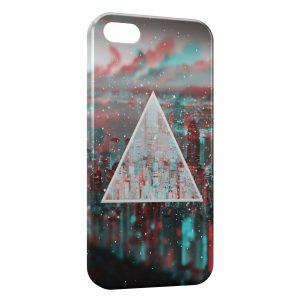 Coque iPhone 5C Pyramide City 2