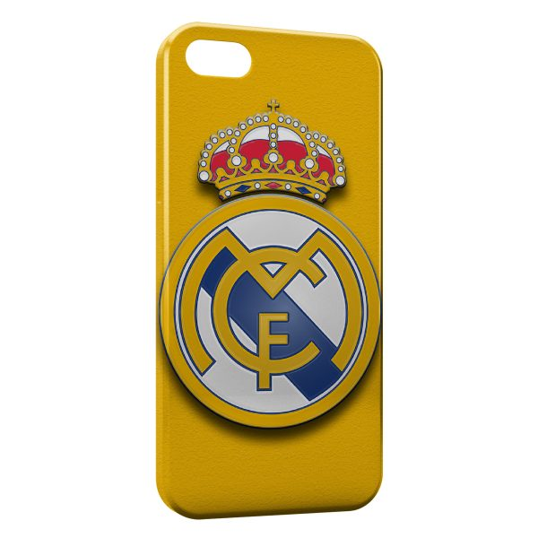 Coque iPhone 5C Real Madrid Football 11 600x600