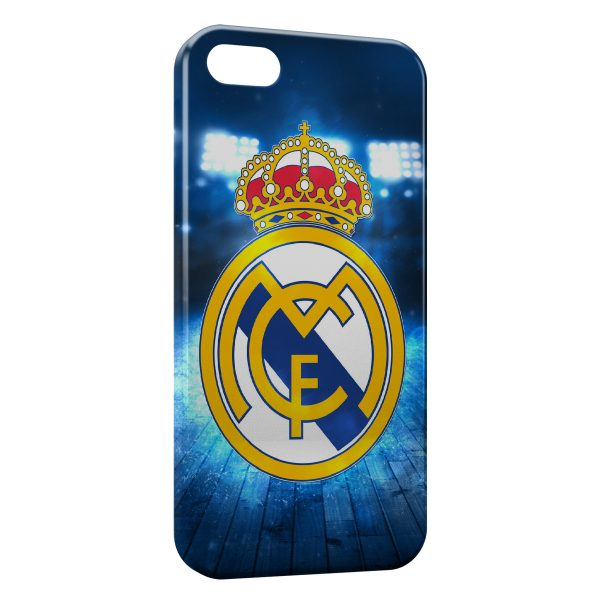 Coque iPhone 5C Real Madrid Football 14 600x600