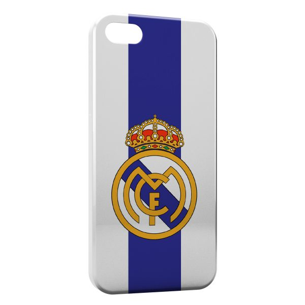 Coque iPhone 5C Real Madrid Football 7 600x600