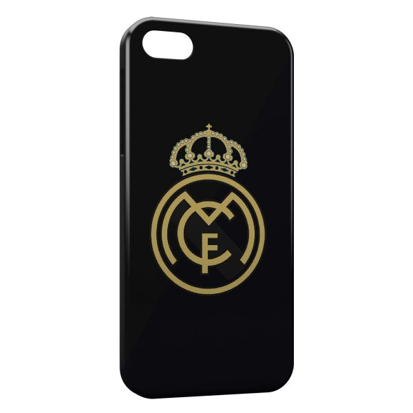 Coque iPhone 5C Real Madrid Football 9