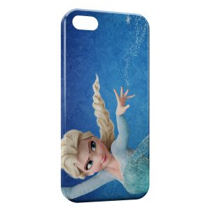 Coque iPhone 5C Reine des neiges Elsa