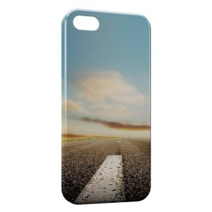 Coque iPhone 5C Road Style