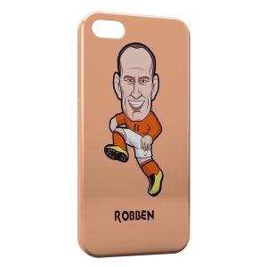 Coque iPhone 5C Robben Football