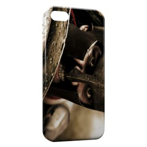 Coque iPhone 5C Roi Leonidas 300