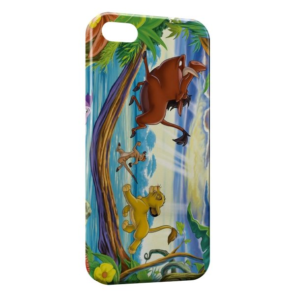 Coque iPhone 5C Roi Lion Simba 2