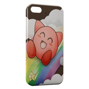 Coque iPhone 5C Rondoudou Arc en Ciel Rainbow Pokemon