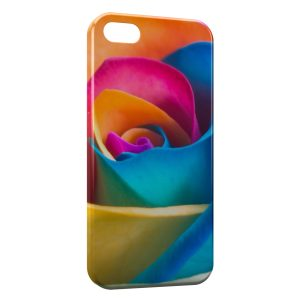 Coque iPhone 5C Rose Multicolor 3
