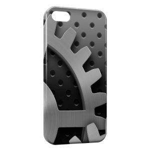 Coque iPhone 5C Rouage Mécanique