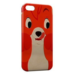Coque iPhone 5C Rox et Rouky Renard Fox