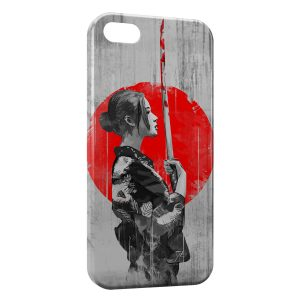 Coque iPhone 5C Samurai