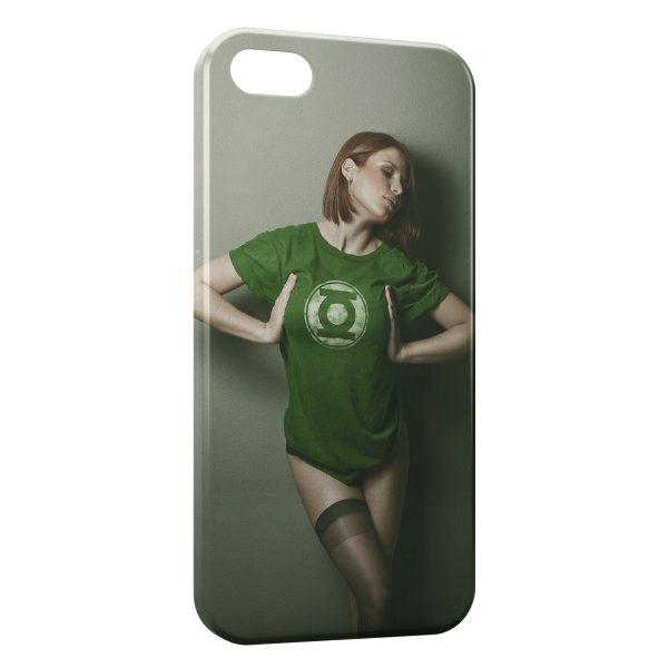 Coque iPhone 5C Sexy Girl Comics