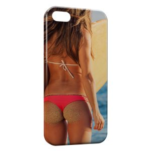 Coque iPhone 5C Sexy Girl Surf 2