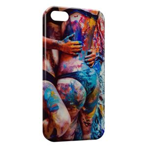 Coque iPhone 5C Sexy Girls Peinture
