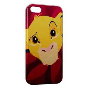 Coque iPhone 5C Simba Art Red