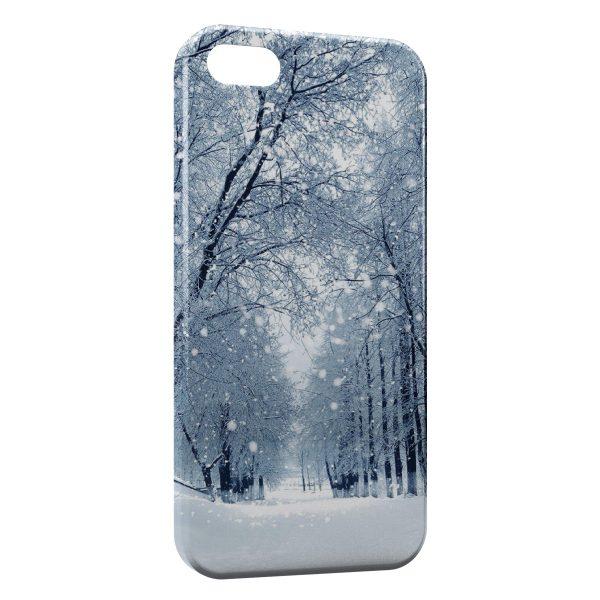 Coque iPhone 5C Snow is shining