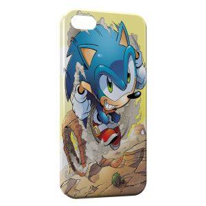Coque iPhone 5C Sonic 4