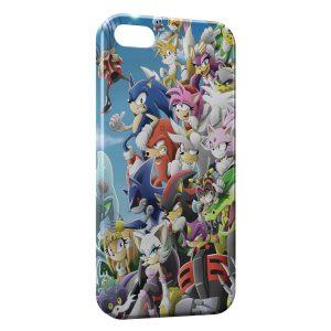 Coque iPhone 5C Sonic 5