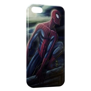 Coque iPhone 5C Spiderman Design Art 2