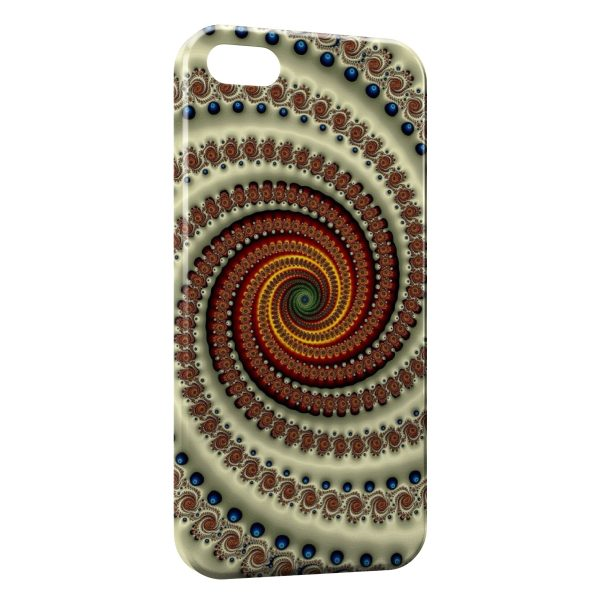 Coque iPhone 5C Spirale