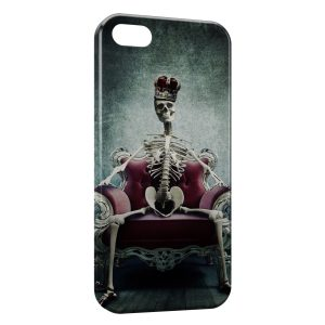 Coque iPhone 5C Squelette King