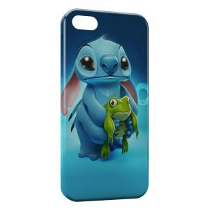 Coque iPhone 5C Stitch Grenouille 2