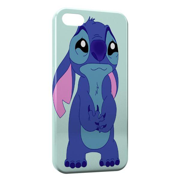 Coque iPhone 5C Stitch Triste 2