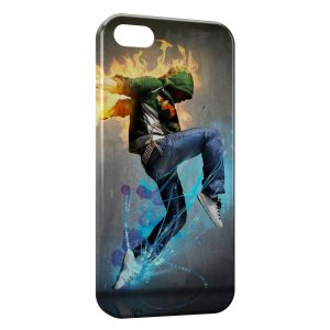 Coque iPhone 5C Street Dance