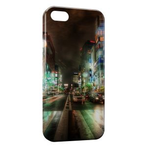 Coque iPhone 5C Street View at Night