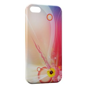 Coque iPhone 5C Sunflower 2
