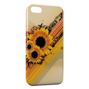 Coque iPhone 5C Sunflower