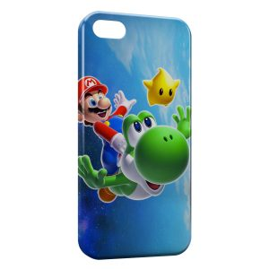 Coque iPhone 5C Super Mario & Luigi