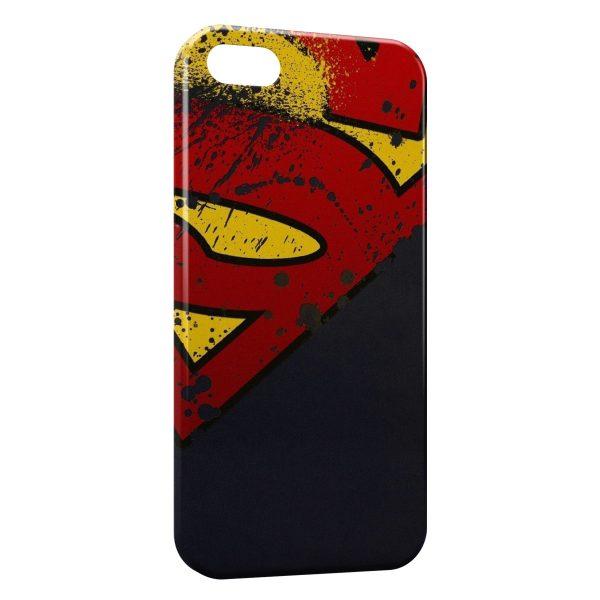 Coque iPhone 5C Superman Logo Corner