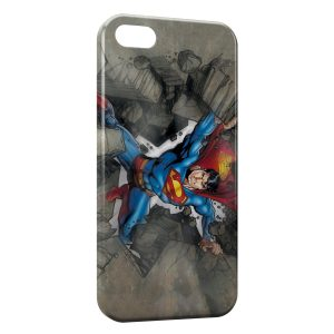 Coque iPhone 5C Superman Rock