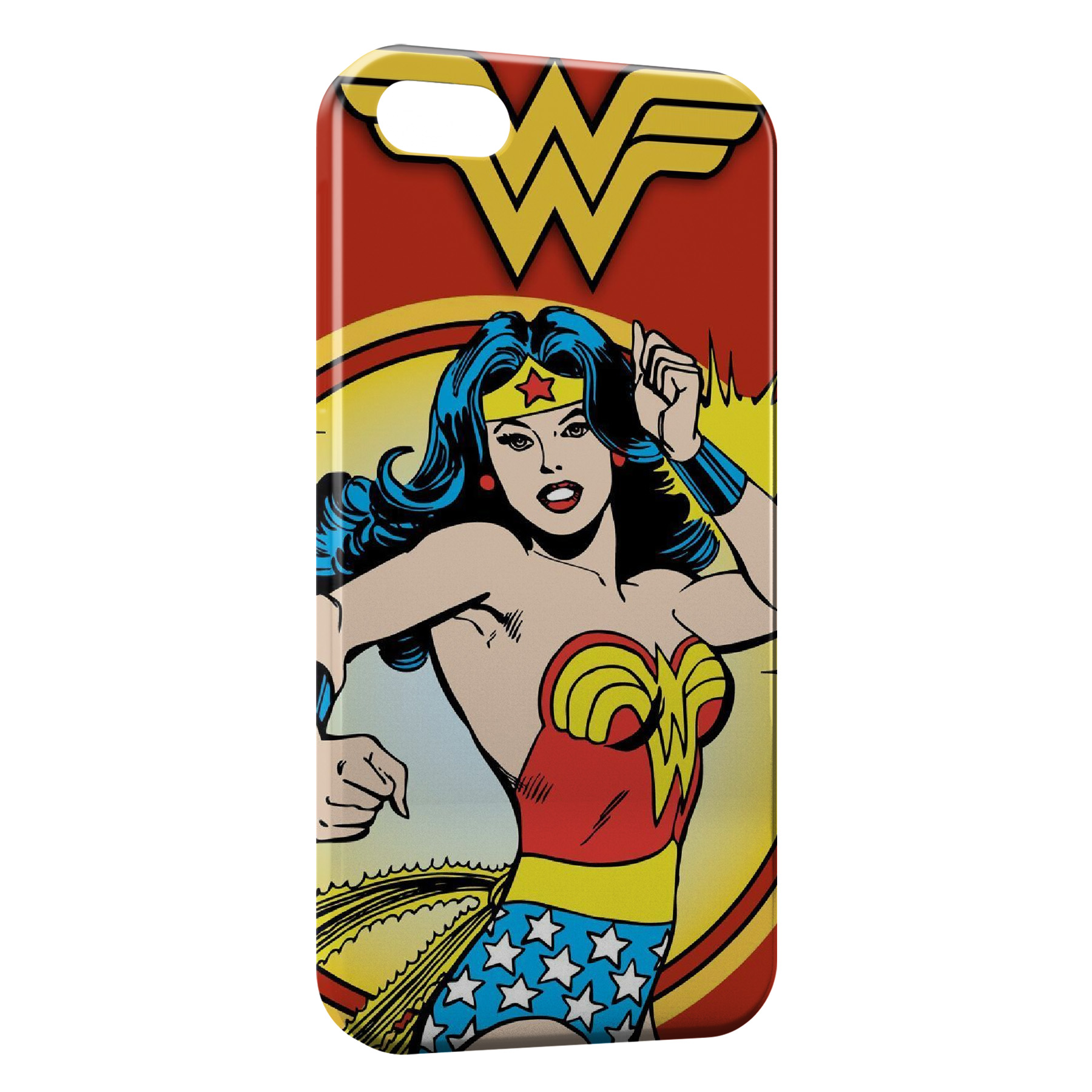 Coque iPhone 5C Superwoman Advengers Vintage Comics