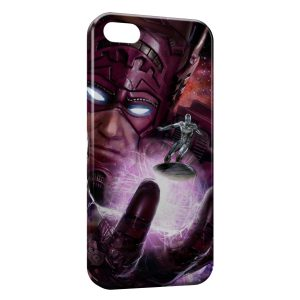 Coque iPhone 5C Surfeur d'argent