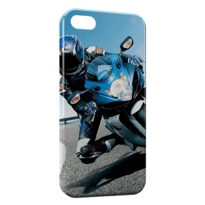 Coque iPhone 5C Suzuki biker Moto
