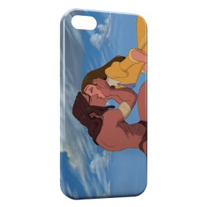 Coque iPhone 5C Tarzan et Jane