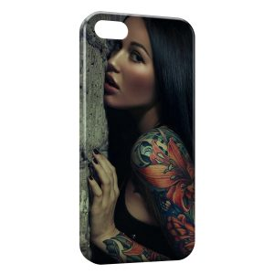 Coque iPhone 5C Tattoo Sexy Girl 3