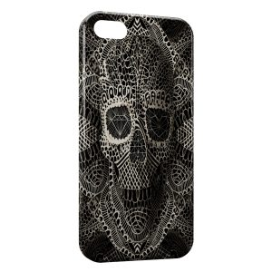 Coque iPhone 5C Tete de mort