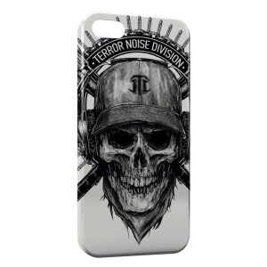 Coque iPhone 5C Tete de mort Terror