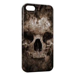 Coque iPhone 5C Tete de mort2
