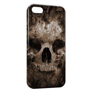 Coque iPhone 5C Tete de mort2