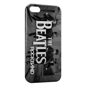 Coque iPhone 5C The Beatles RockBand